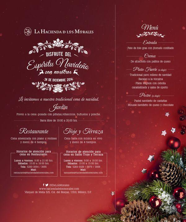 16 mejores im genes sobre donde pasar navidad y fin de ano en el df en pinterest editorial - Restaurante para navidad ...