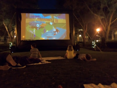 Disney World Port Orleans Riverside Movies Under the Stars Review
