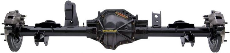 Dynatrac Pro Rock Series 60 Rear Axle Assemblies with Detroit Locker for 97-06 Jeep Wrangler TJ & Unlimited