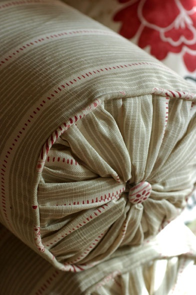 Bolster in Vanessa Arbuthnott Fabric - Moorhouse Trading