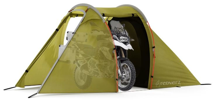 Redverz Solo Expedition Motorcycle Tent - Price: $499 (£378.75).    http://redverz.com/motorcycle-tents/solo/