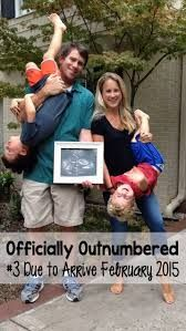 Image result for 3rd baby announcement ideas