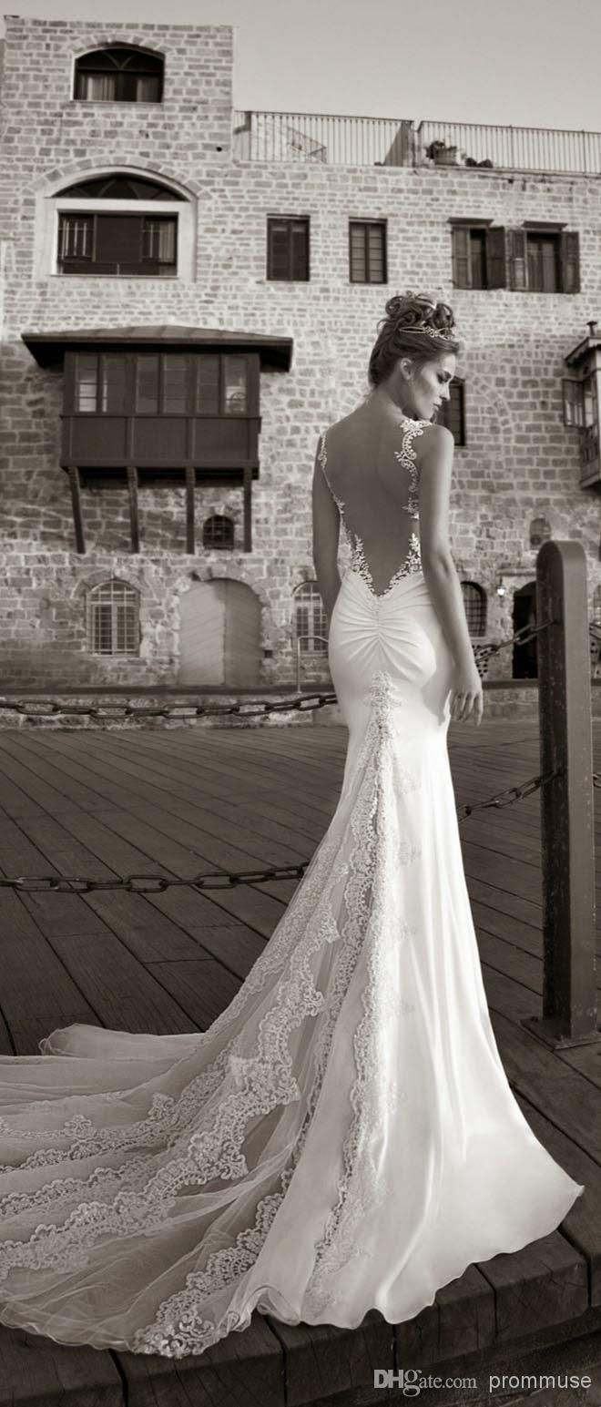 99+ Wedding Dresses Lace Open Back - Best Shapewear for Wedding Dress Check more at http://svesty.com/wedding-dresses-lace-open-back/