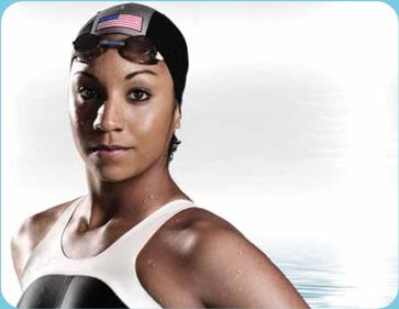 """Maritza """"Ritz"""" Correia is the First Black American to be on Olympic Swim Team. She also became the First Black U.S. swimmer to set an American and World Swim Record!"""