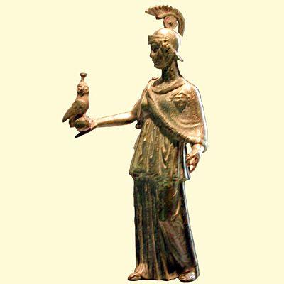 Minerva, goddess of wisdom with her owl | Tattoo Ideas ...