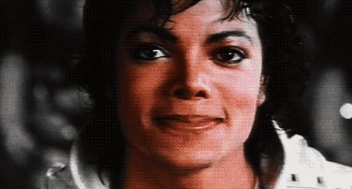 Michael Jackson GIF - Find & Share on GIPHY Captain EO smile