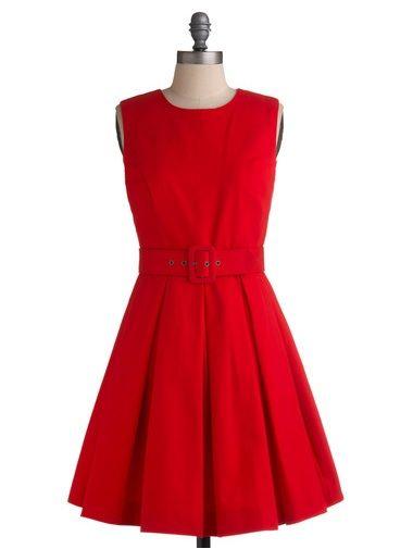 Street one kleid mit rosen saum ruby
