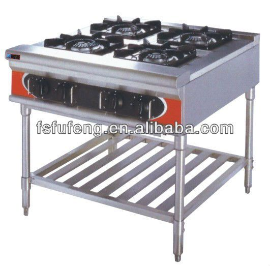 Commercial 4 Burners Free Standing Gas Cooker FGR-4W