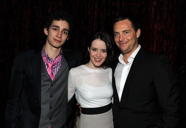 """Stephen Campbell Moore Claire Foy Photos - (L-R) Actors  Robert SHeehan, Claire Foy and Stephen Campbell Moore attend the after party for Relativity Media's premiere of """"Season of the Witch"""" at Landmark on the Park on January 4, 2011 in New York City. - Relativity Media's Premiere of """"Season of the Witch"""" - After Party"""