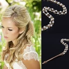 Image result for hair pearls