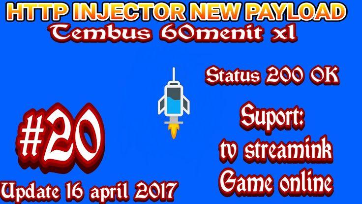 [Update] cara membuat config payload http injector terbaru suport tv streaming dan game online