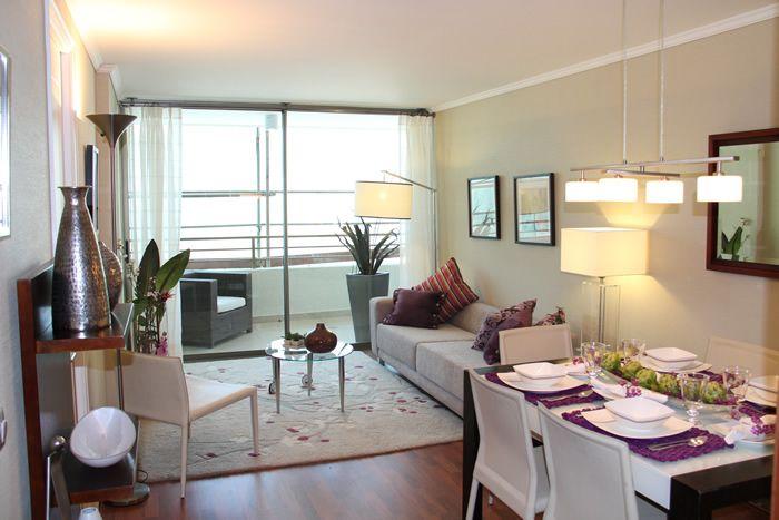 Living comedor peque o rectangular buscar con google for Ideas de decoracion apartamentos pequenos
