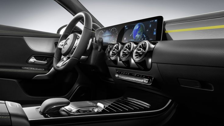 New Mercedes-Benz A-class gets fully digital dashboard