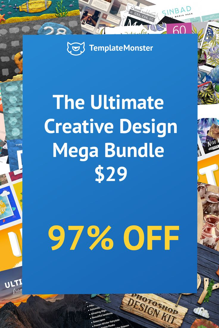Our Ultimate Design Bundle will be released on April 23! It is a bundle of bundles, full of beautiful and functional stuff:3 WordPress themes3 watercolor Packs:1,2,33 UI kits:1,2,810 OverlaysLogo templateshttps://www.templatemonster.com/blog/ultimate-design-bundle/