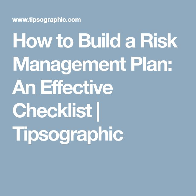 The  Best Project Risk Management Ideas On   Risk