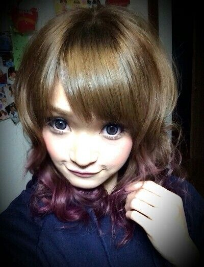 #dipdye#Haircolor#ombre#ashbeige#ディップダイ#ヘアカラー#アッシュベージュ#ピンクパープル#pinkPurple#Hairsalon#Welina#japan