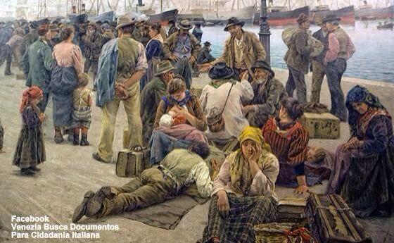 Veneza, Imigração Italiana Brasil