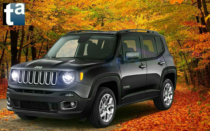 054 - AUTUMN SCENE #Jeep #Renegade #Latitude Compact #SUV 2015 #Automotive