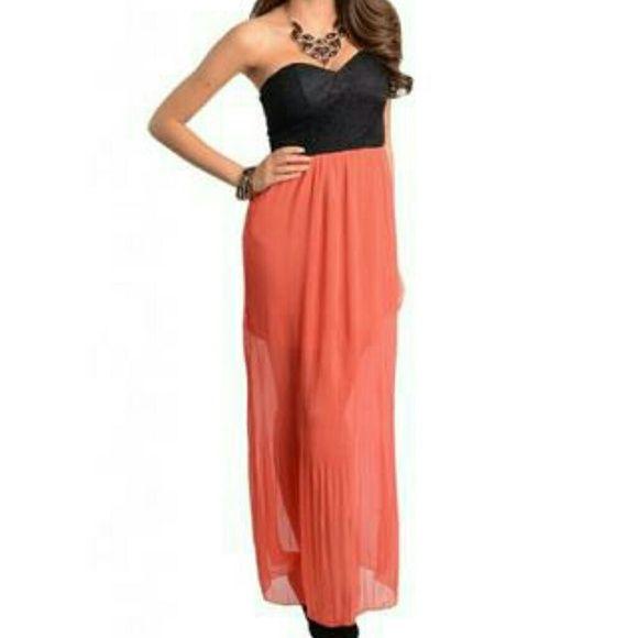 I just added this to my closet on Poshmark: NWT Yaya land strapless maxi dressNWT. Price: $35 Size: S