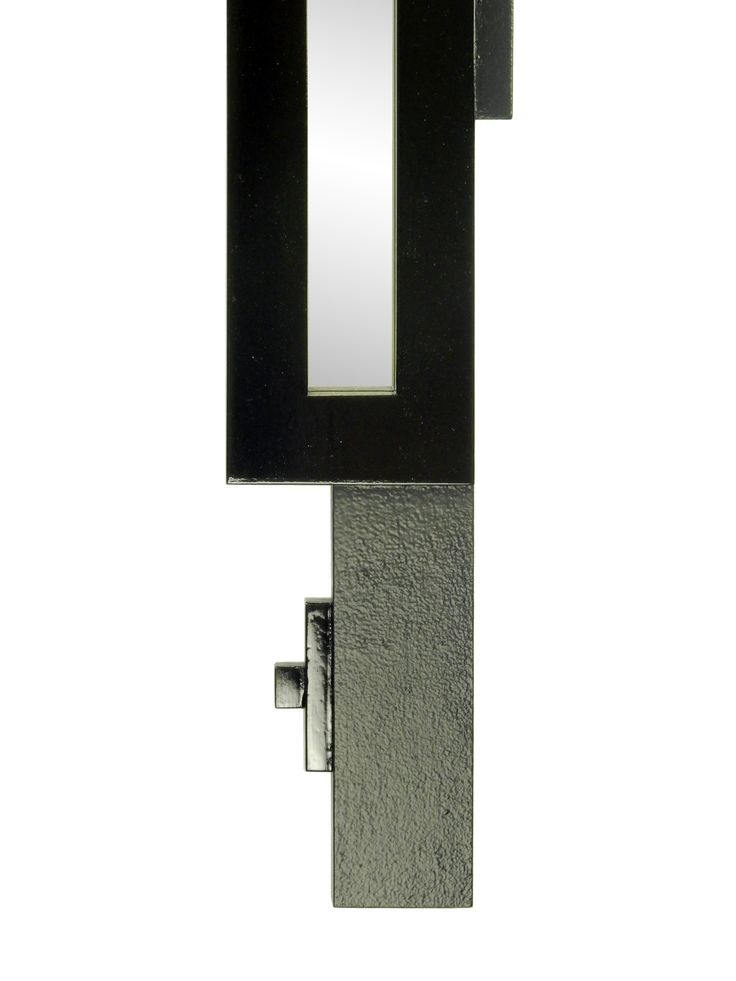 Matte black and glossy details of the Quebus Mirror...