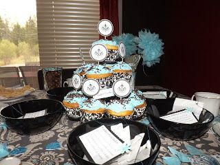 i made this tea party... cute =)