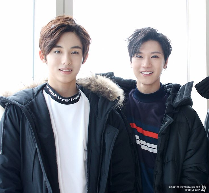 NCT Ten and Sm rookie Winwin (but he already graduated, waiting for them to debut .. Omoooo so excited)