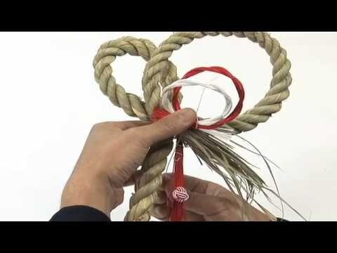 プリザーブドフラワー『しめ縄飾り』の作り方 千趣会イイハナ