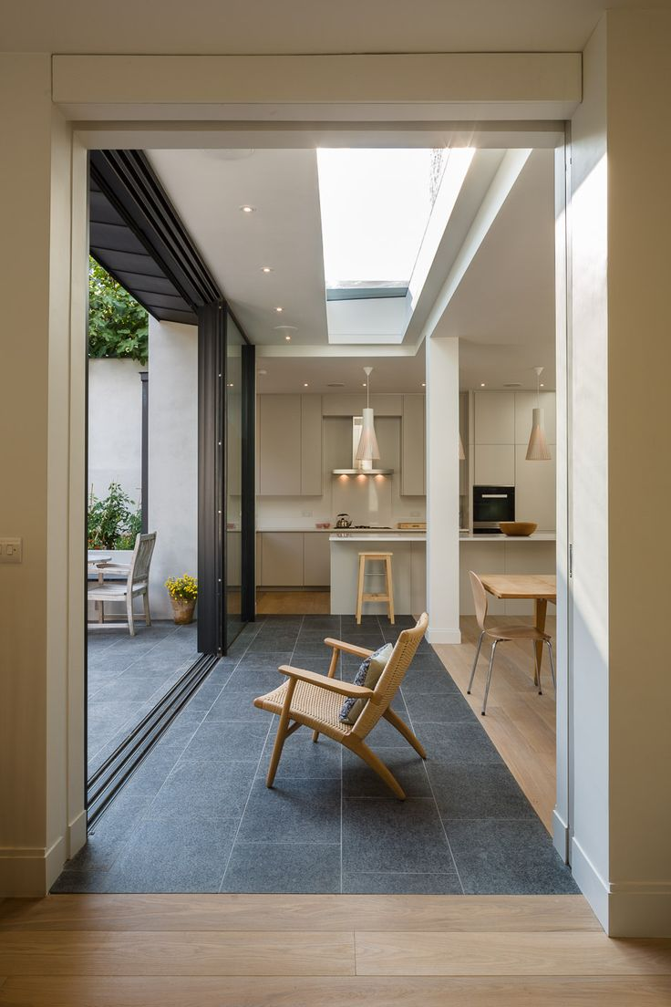 Delightful Today We Will Show You A Beautiful Extension To A House In London, A  Project By Jones Associates Architects. The Extension Adds A Contemporary  Look To A ...