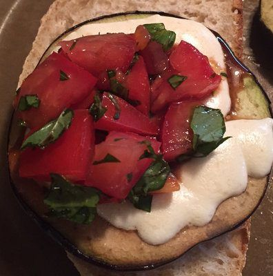 Recipe: Grilled Eggplant Parmesan Sandwich
