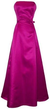 50-х годов без бретелек атласная Длинные платья невесты платье праздник Формальные младший Плюс Размер: Amazon.com: Одежда
