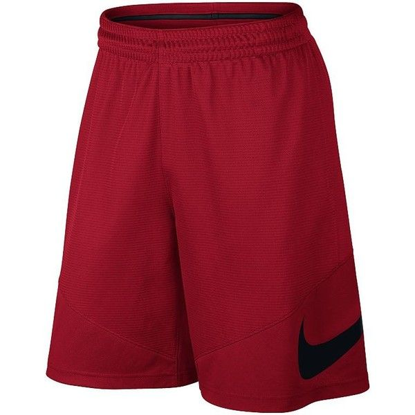 Big & Tall Nike Dri-FIT Basketball Shorts ($30) ❤ liked on Polyvore featuring men's fashion, men's clothing, men's activewear, men's activewear shorts, dark pink, mens big and tall activewear and mens activewear shorts