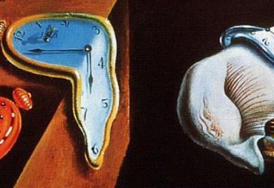 Salvador Dali's Melting Clocks