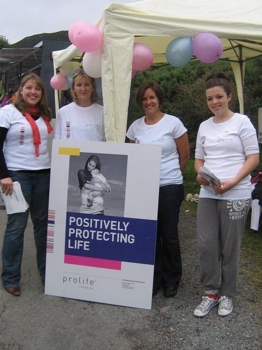 Ireland's Pro-life groups climbing Croagh Patrick, raising awareness on abortion