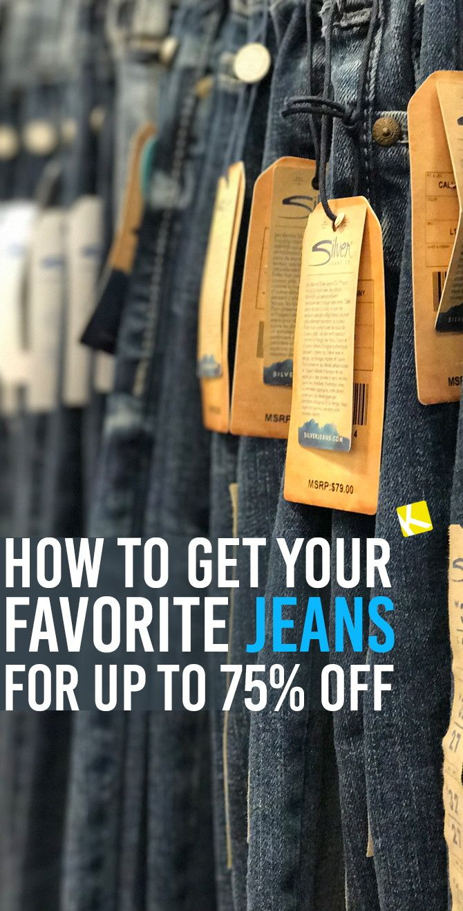 b4f9390b2ad2 How to Get Your Favorite Jeans for up to 75% Off
