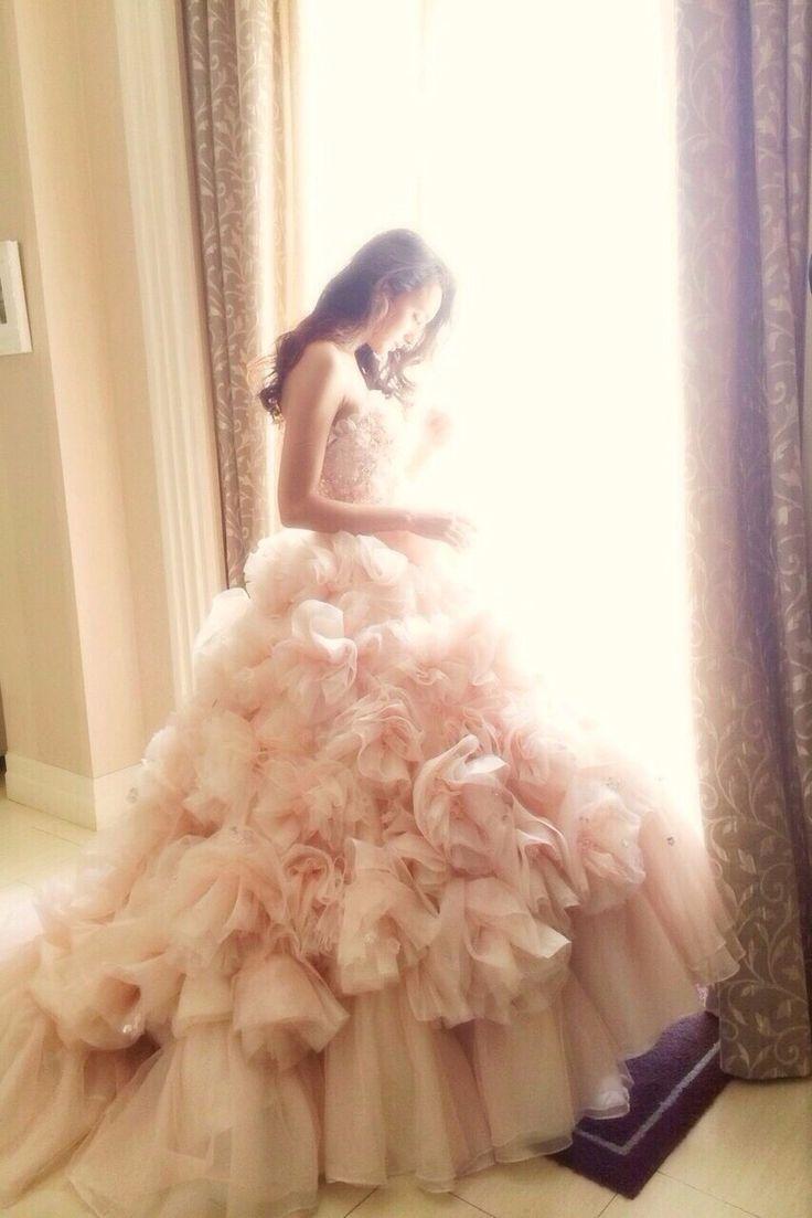 THE HANY最新ドレス!伊藤羽仁衣着用デザイン『マシェリ』がレンタルスタート♡にて紹介している画像