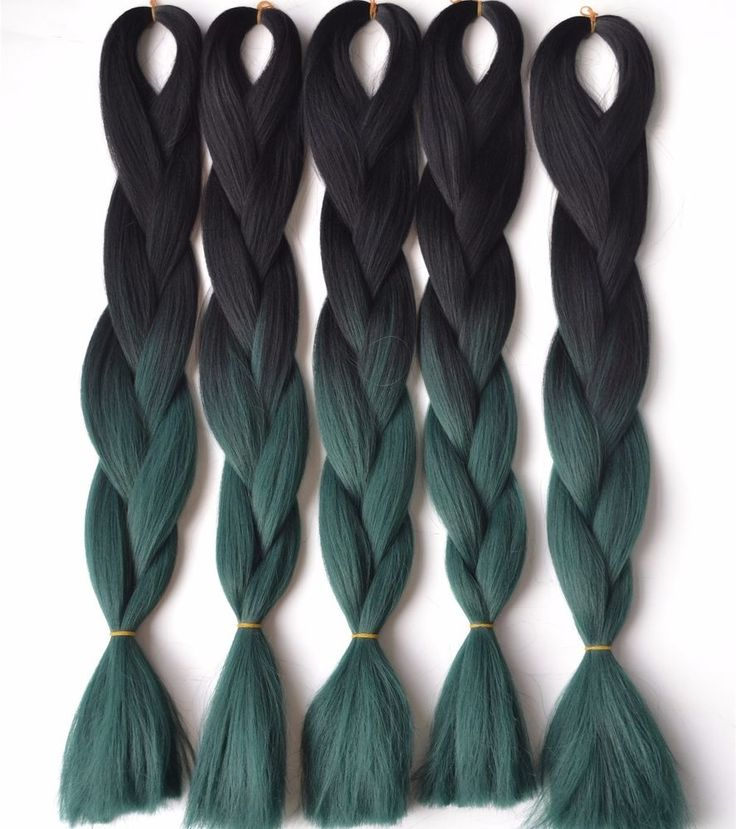 """5PCS/PACK  24"""" SYNTHETIC KANEKALON BRAIDING HAIR OMBRE COLOR 100G/PC NEW  #Unbranded #HairExtension"""