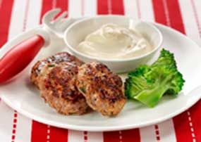 Baby Food Recipes: Beef Patties | Forbaby.co.nz