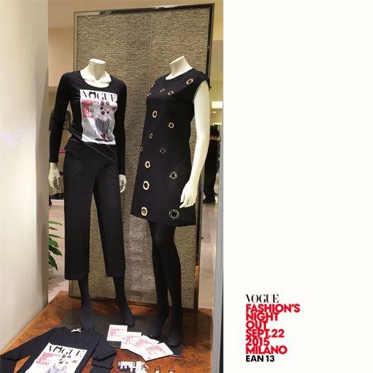 Ean13 partecipa alla notte bianca della moda organizzata da Vogue a Milano.  Il ricavato della vendita della nostra t-shirt sarà devoluto a charity e onlus. #VFNO15