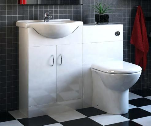 toilet sink combo combination furniture set with essential