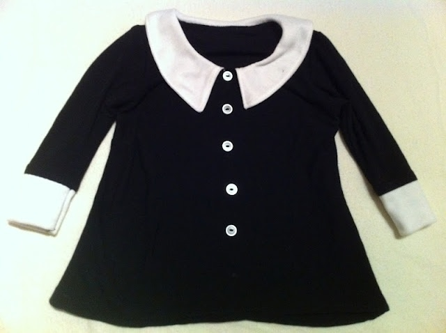 Max California: Wednesday Addams Dress. I dont have a daughter but this is soooooooooo cute