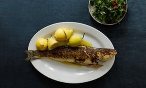 Jeremy Lee's recipe for grilled seabass with parsley salad | Jeremy Lee | Life and style | The Guardian