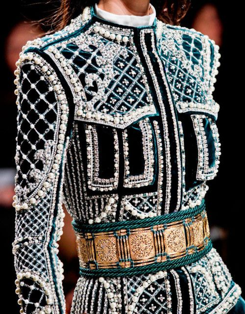 want: Jacket, Balmain, Inspiration, Details, Style, Dress, High Fashion, Haute Couture