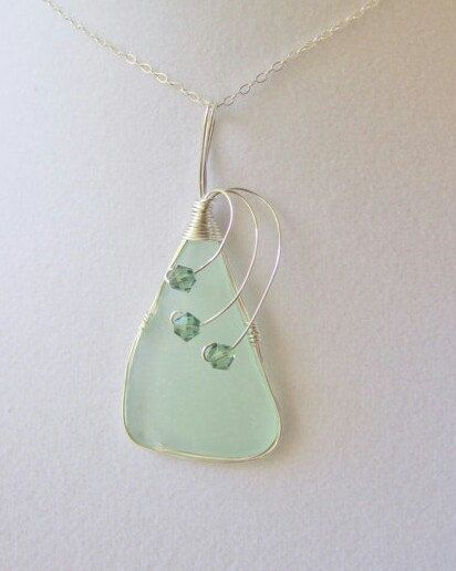 Hey, I found this really awesome Etsy listing at https://www.etsy.com/listing/102715338/sea-glass-necklace-sea-glass-jewelry