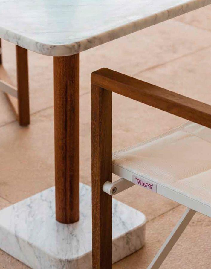 Lasilla de director Bridge,como su nombre lo indica, nos recuerdan a las antiguas silla de director de Hollywood. Realmente es una silla muy original, muy elegante, cómoda y práctica. Hará de tu terraza un espacio con mucha personalidad y presencia. Seguramente quieres crear en tu hogar un ambiente de calidez y confort, por ello te