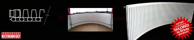 Curved Radiators - Bay Window - Trade Radiators