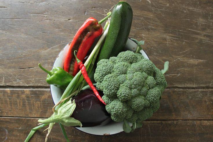 groenten voor de wok teriyaki roerbak