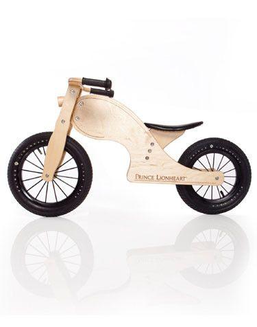 Bungalow Kids - Balance Bike Chop, Natural Wood