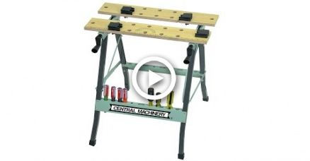 US Basic Folding Clamping Workbench Unbox And Full Meeting And Face Plate Mod/Repair