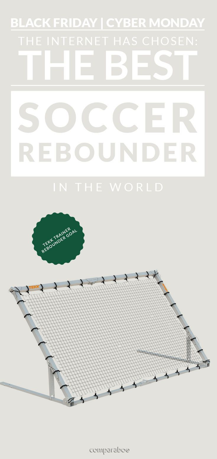 Practice without breaking the house. Congratulations Tekk Trainer on the top rated soccer rebounder in the world www.comparaboo.com | @comparaboo