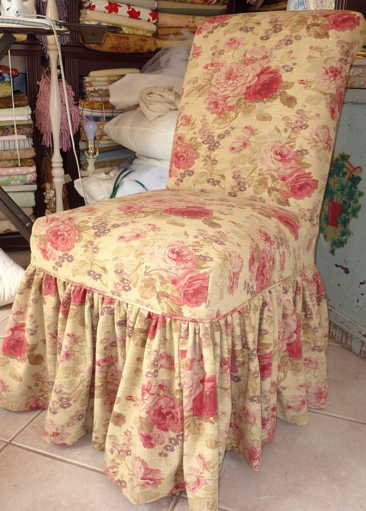 Shabby Chic Slipcovers For Loveseats Cottage By Design With Trish Banner Parsons Chair